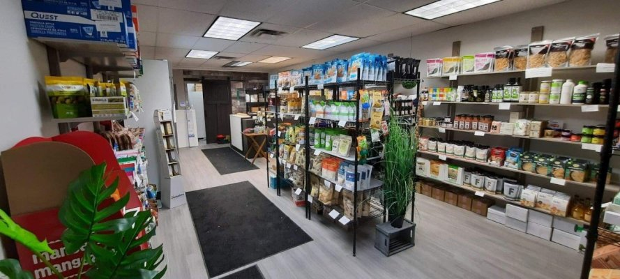 Keto Food Store for Sale North Shore of Montreal