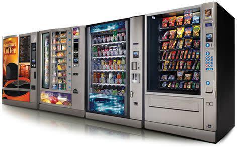 Snack Beverage Vending Machine Business for Sale