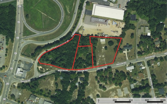 Commercial Lots Auction in Columbia, SC
