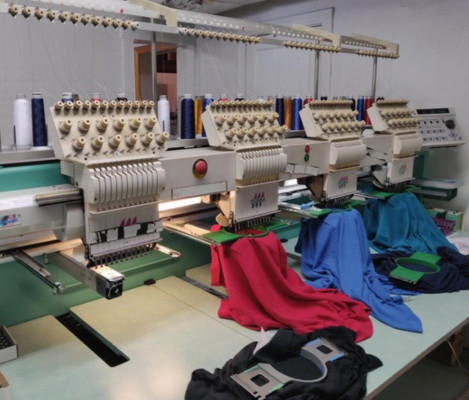 Established Embroidery & Screen Printing Business