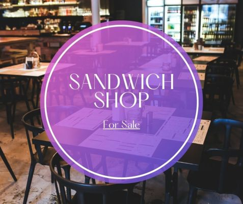 Sandwich Shop For Sale with Low Rent