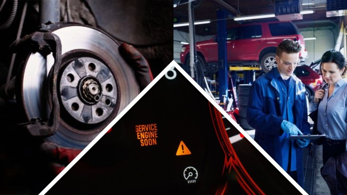 Tire & Auto Repair Shop with Big Property