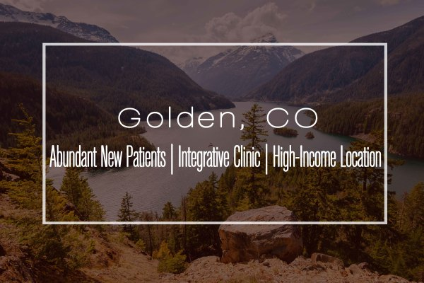 Clinic in Golden, CO —Significant Growth Potential