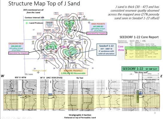 1,098,000 BO - Oil - J Sand Drilling Deal ~4000'