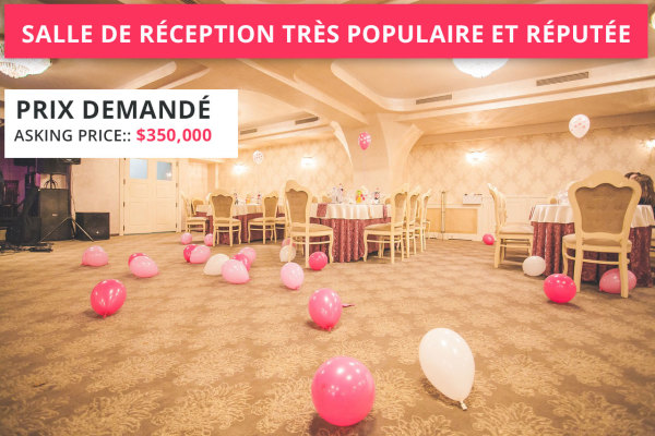 Very Popular And Reputable Reception Hall