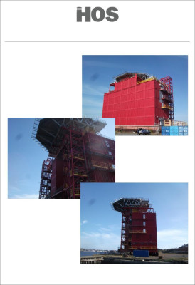 60 to 240 Accommodation Module with Helideck