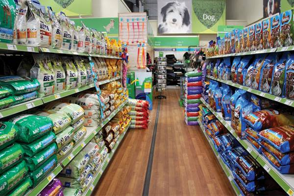 Successful Two-Store Pet Food Chain