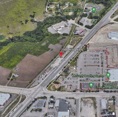 Highway 97 Oriented Commercial Development