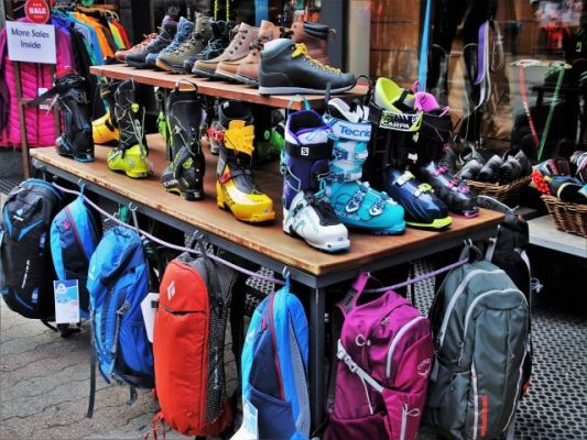 High-End Outdoor Recreation Consignment Store