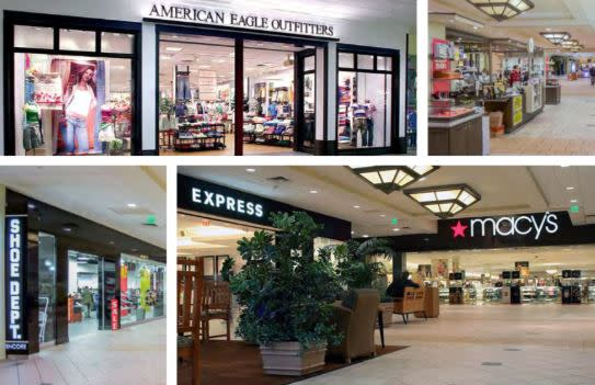 Shopping Malls In PA , & NY Long Island For Sale