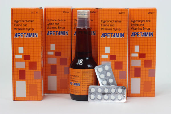 Apetamin Syrup Contain 200ml Each Bottle