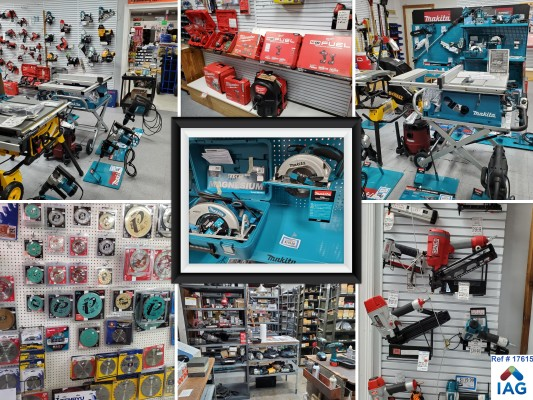 Power Tool Retail and Repair for Contractors