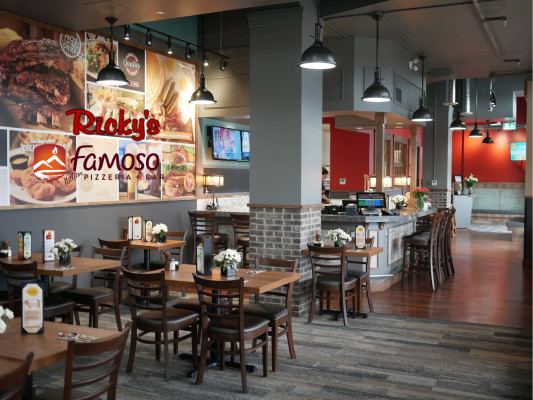 Ricky's Restaurant & Famoso Pizzeria in Terrace BC