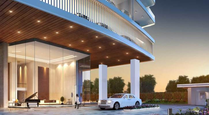 20-Storey High-end Apartments