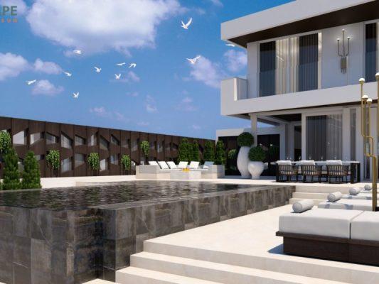 Villa in Sun City Spa Resort, Ayia Napa, Cyprus