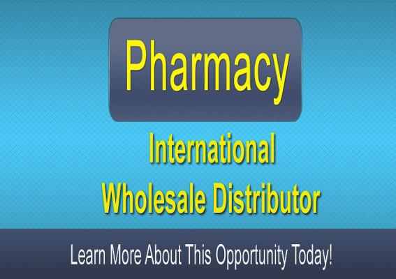 Pharmacy: International Distributor $2.8M