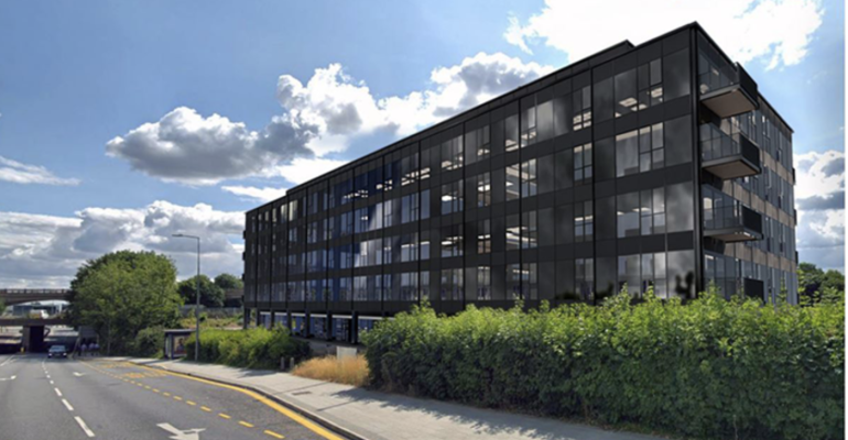 Permitted Office-to-Resi Conversion, 110 Units