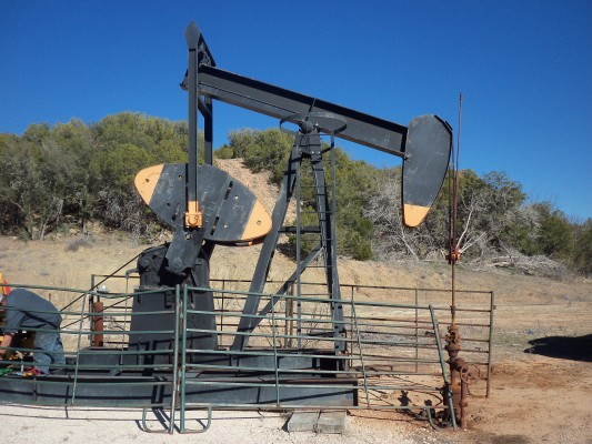Texas Natural Gas Well Production