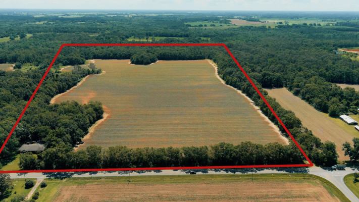 74+ AC Prime Ag/Development Land with Home