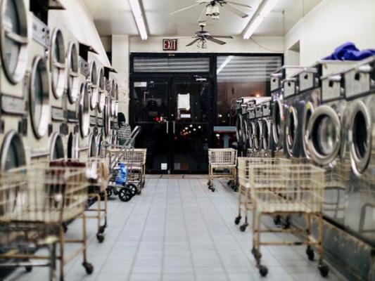 Laundromat in Busy Queens Neighborhood