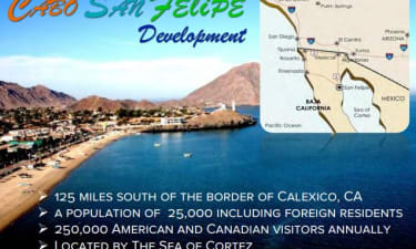 Cabo San Felipe , Baja Mexico 1700 Acres For Sale