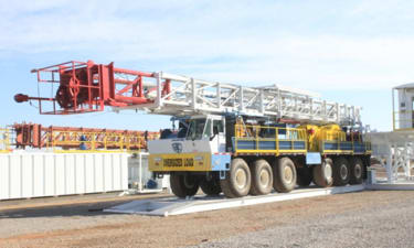 Truck Mounted 750hp Land Rig