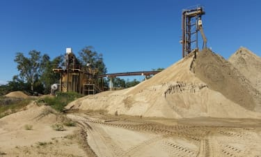 In Liquidation First Grade Sand And Gravel Quarry