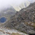 Cornul Caltunului si Lespezi, prin Caldarea Berbecilor, dupa o noapte la cort, la Lacul Caltun.