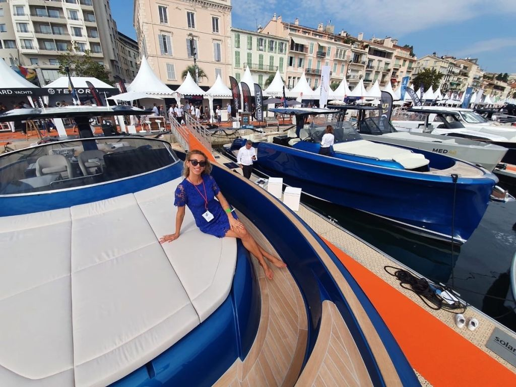 Solaris Power beim Cannes Yachting Festival