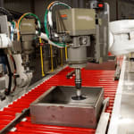 Robotic Grinding and Buffing   MESH Automation