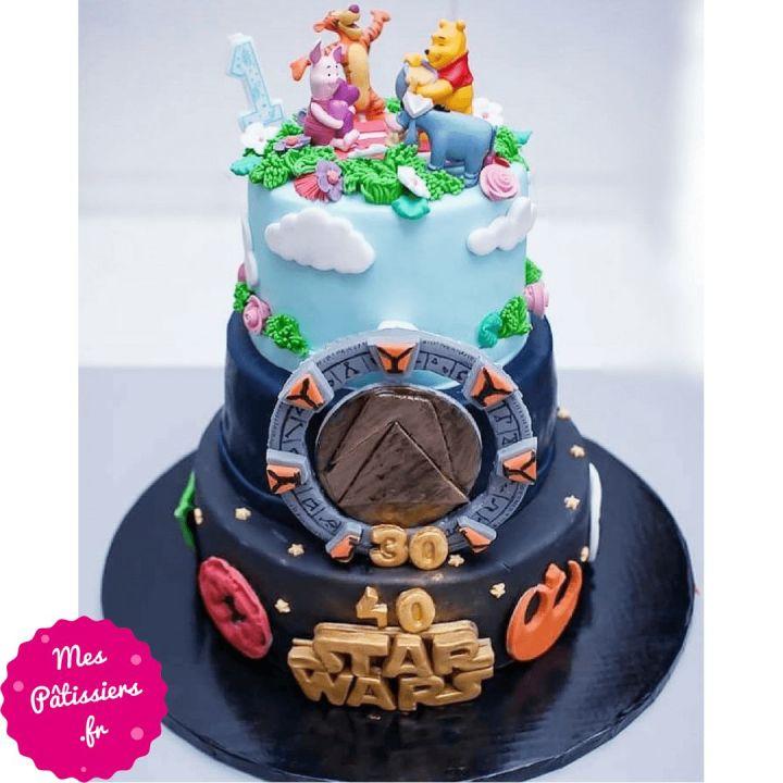 Gâteau multithèmes