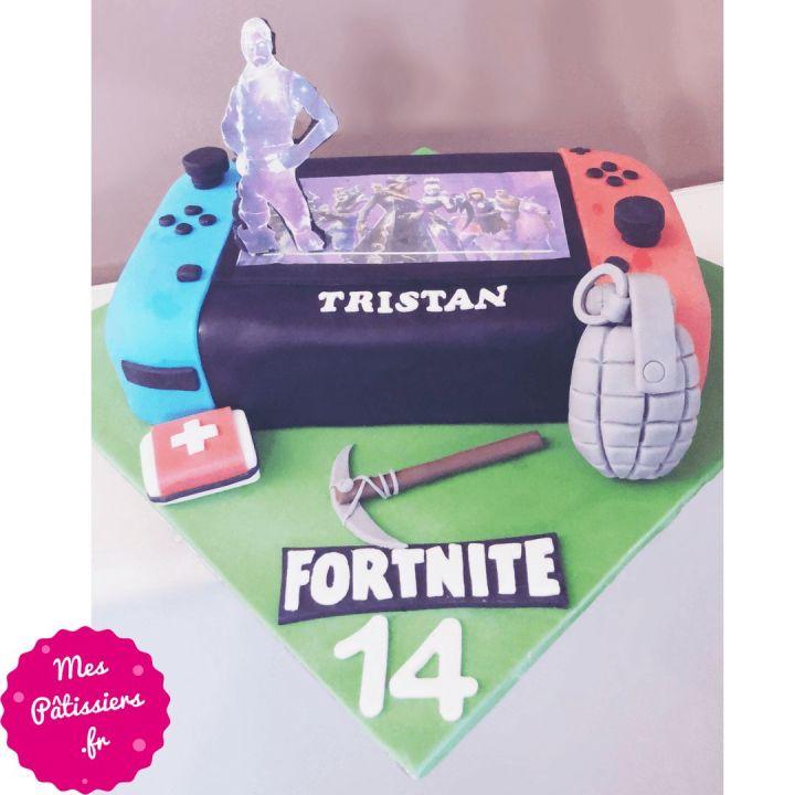 Gâteau Nitendo DS fortnite