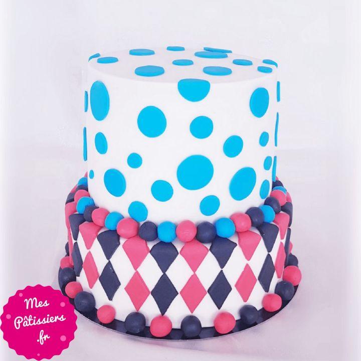 Gâteau Harley Quinn