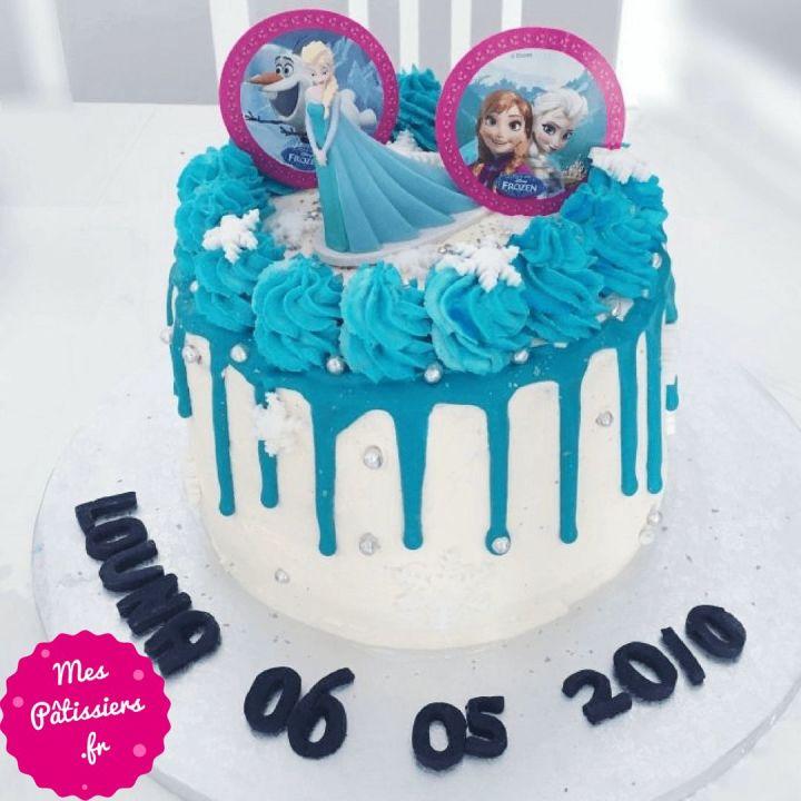 Layer cake Reine des neiges