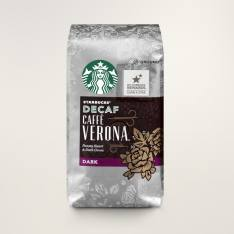 Bag of whole bean Caffè Verona® Decaf coffee, roasted by Starbucks