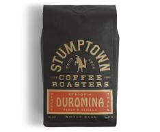 Bag of whole bean Ethiopia Duromina coffee, roasted by Stumptown Coffee Roasters