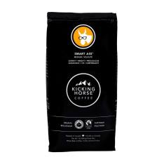Bag of whole bean Smart Ass® coffee, roasted by Kicking Horse Coffee