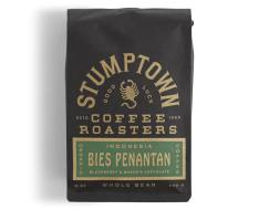 Bag of whole bean Indonesia Bies Penantan coffee, roasted by Stumptown Coffee Roasters