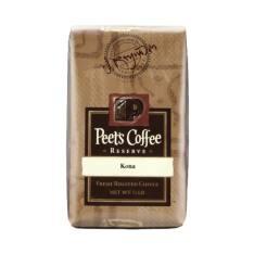 Bag of whole bean Kona coffee, roasted by Peet's Coffee