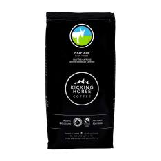 Bag of whole bean Half Ass coffee, roasted by Kicking Horse Coffee