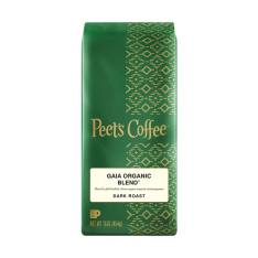 Bag of whole bean Gaia Organic Blend® coffee, roasted by Peet's Coffee
