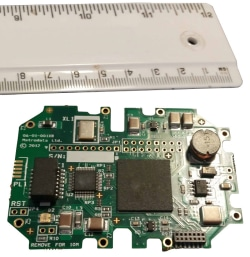 Miniturised version of an Ethernet over LVDS converter to be mounted on a customers own product