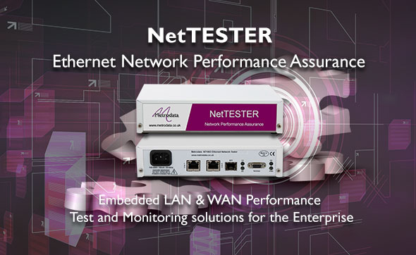 NetTESTER: Embedded LAN / WAN Testing and Monitoring