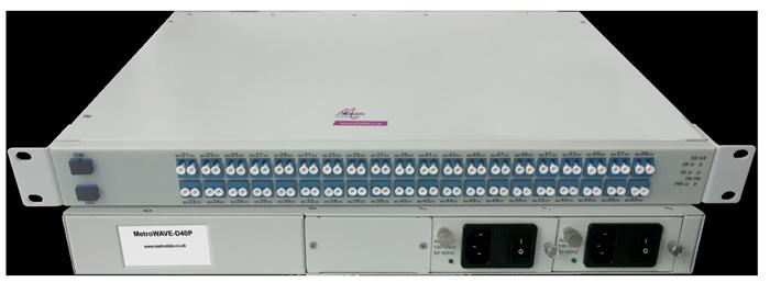 MetroWAVE-D40P - DWDM Multiplexer / De-Multiplexer