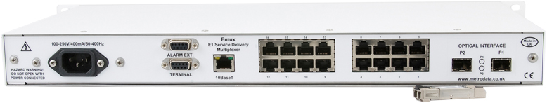 Emux Solution for E1 Service Delivery
