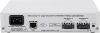 Rear: 1000baseSX to 1000baseLX Ethernet Media Converter
