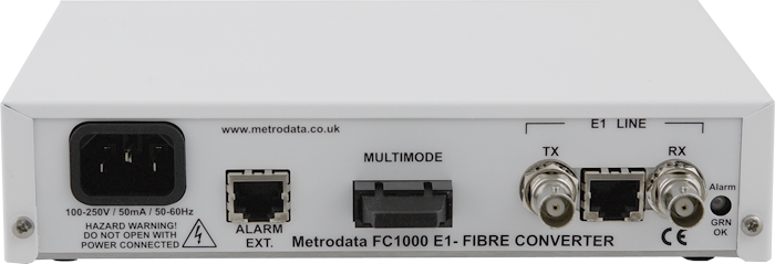 FC1000 - E1 to Multimode Converter