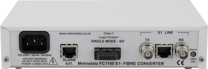 FC1100 - T1/E1 to Singlemode Short Haul