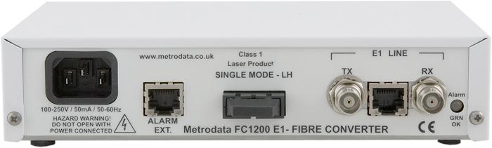 FC1200 - T1/E1 to Singlemode Long Haul Fibre
