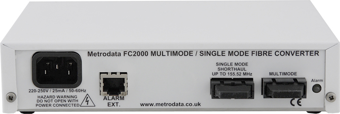FC2000 Singlemode Short Haul to Multimode Fibre